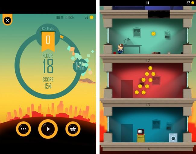 """Das im Comicstil gehaltene """"Daddy was a Thief"""" bietet grafische Durchschnittskost - auch auf langsameren Telefonen läuft das Spiel ohne Probleme."""