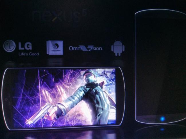 So könnte das LG Nexus 5 aussehen. Foto: Androidadvices.com.