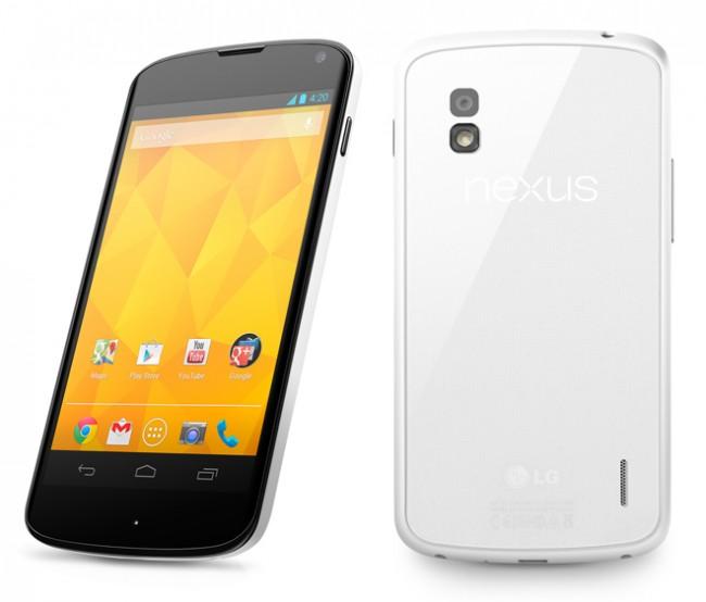 Mit dem Nexus 4 bekam erstmals LG die Chance ein Gerät für Google zu fertigen.