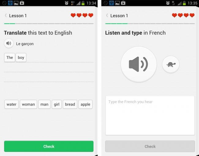 Das Training erfolgt stets in sogenannten Sprachgruppen. Das bedeutet, dass ein Englischsprecher z.B. Französisch lernt.