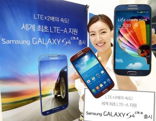 Samsung Galaxy S4 mit Snapdragon 800 Prozessor und LTE-A.