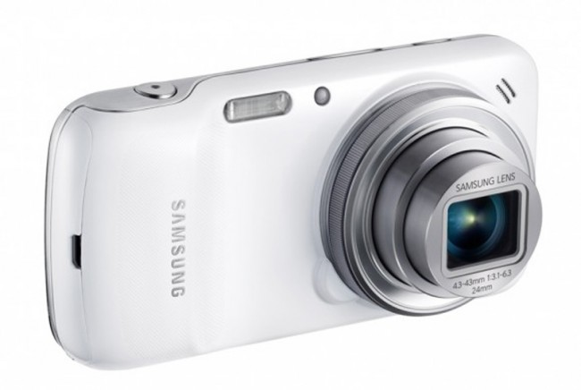 Das Galaxy S4 Zoom kommt mit 10x optischen Zoom auf den Markt. Foto Slashgear.