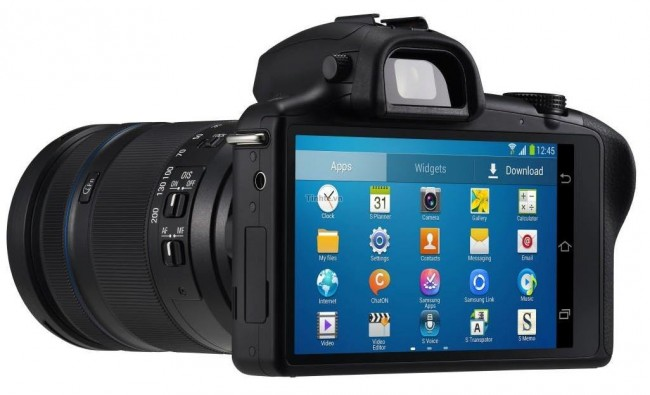 Samsung Galaxy NX Systemkamera / Bildquelle: Tinh te