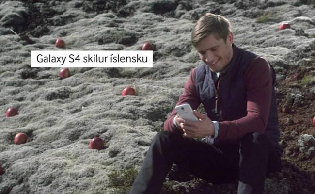 Mit dem Galaxy S4 scheint der Nutzer letztendlich glücklich zu sein. Foto: Youtube.