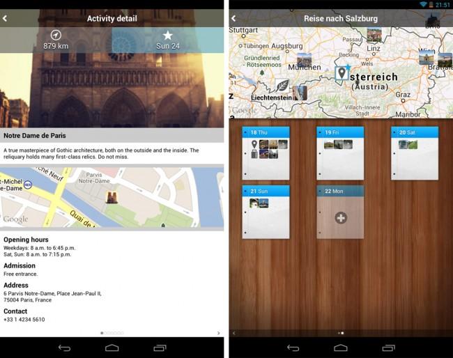 Die App Tripomatic kennt über 300 Reiseziele und mehr als 40.000 Sehenswürdigkeiten in aller Welt.