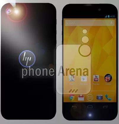 Laut PhoneArena möchte HP den Smartphonemarkt mit diesem unter Android betriebenen Gerät aufmischen...