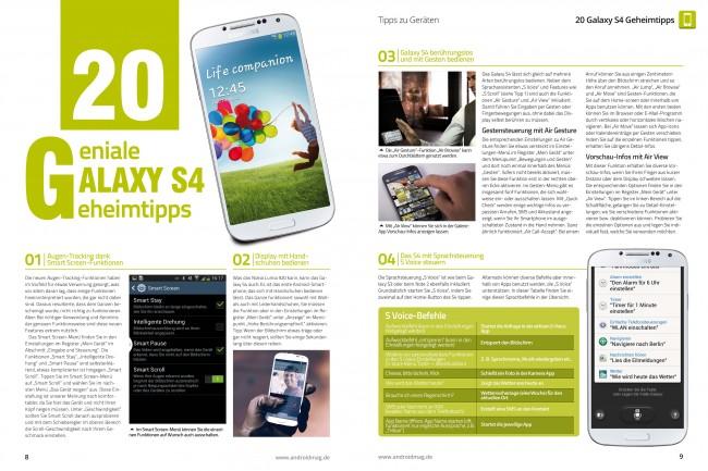 Galaxy S4 Geheimtipps