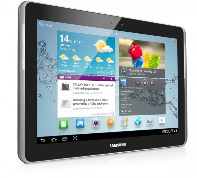 Das Galaxy Tab von Samsung legte im letzten Jahr beim Marktanteil deutlich zu.