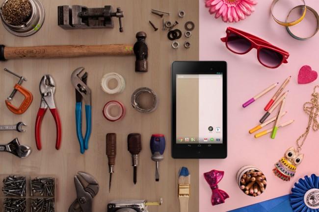 Nexus 7. Foto: Google.