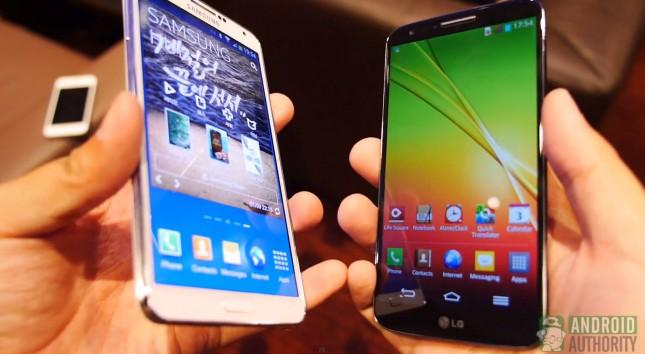 Samsung und LG kämpfen mit schwachen Quartalszahlen. (BQ: Android Authority)
