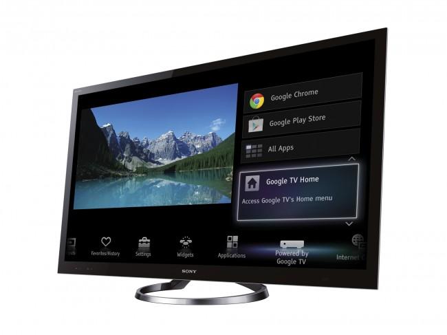 Auf dem Gerät aber nicht in der Beschreibung - Google TV. (Quelle: mobilegeeks.de)