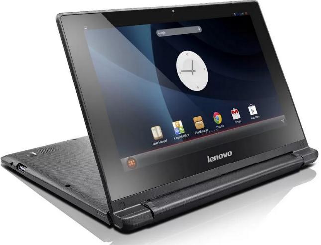 Das Lenovo IdeaPad A10 kann sowohl als Netbook oder als  Tablet genutzt werden. (Foto: Lenovo)