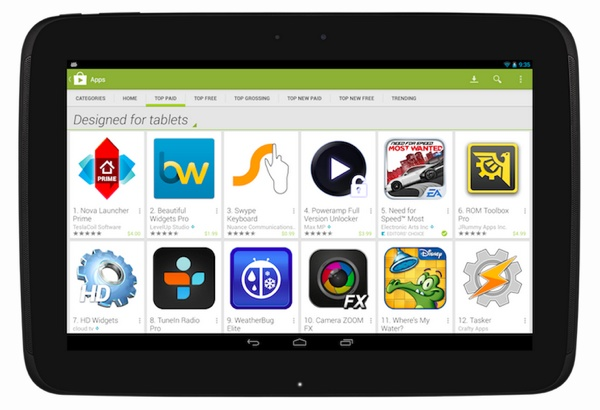 Diverse Apps werden künftig nicht mehr in der Kategorie Kostenlos angezeigt. (Screenshot: Android-Developers)