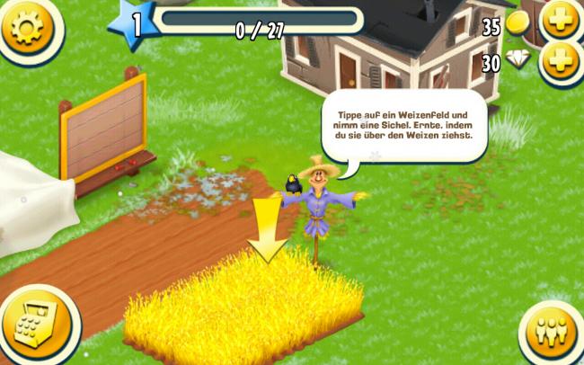 Deine Aufgabe ist es einen Bauernhof zu bewirtschaften.