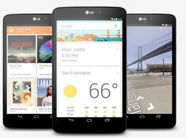 Das LG G Pad 8.3 wurde in der Gerüchteküche als Nexus 8 bezeichnet.