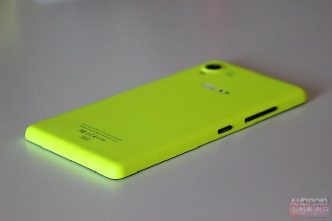Nein, das ist kein Lumia - dieses Bild zeigt das Vivo 4.8 (Bildquelle: AndroidPolice)