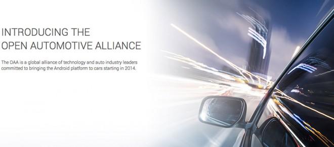 Die Open Automotive Alliance: Googles Weg, einen Fuß in den lukrativen Automobilmarkt zu bekommen.