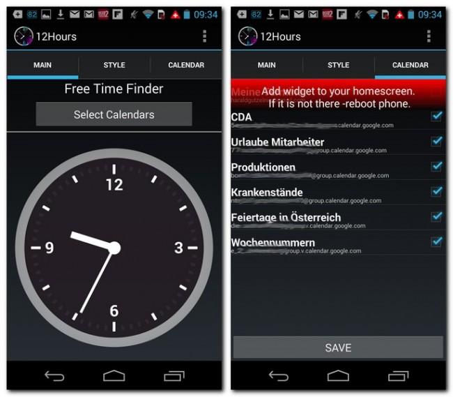 Du kannst beliebige Kalender mit der Uhr verbinden. Schließlich platzierst du noch ein Widget auf deinem Homescreen – fertig!