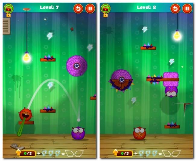 Lightomania versieht das bewährte Spielprinzip von Angry Birds mit zusätzlichem Rätselspaß und vielen Elementen, die deine grauen Gehirnzellen wieder auf Vordermann bringen sollen.
