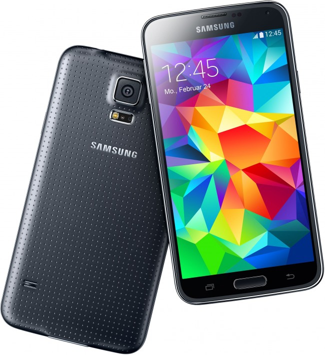 Das Samsung Galaxy S5 gibt es nun auch beim größten Handelspartner für Apple-Produkte (Foto: Gravis)