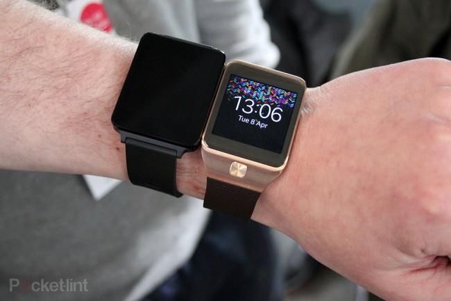 Auch Samsung soll angeblich an einer Smartwatch mit Android Wear arbeiten. (Bild: Pocket-Lint)