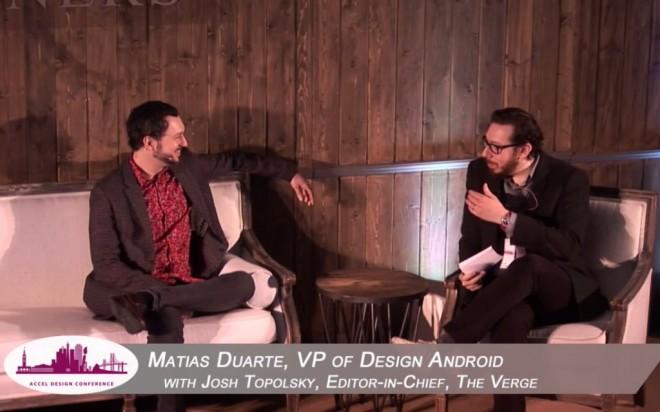 Matias Duarte: Sein todsicheres Gespür für tolles Design endet meist bei seinen Hemden.