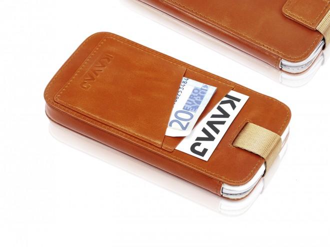 Kavaj exklusive Echtledertasche für das Galaxy S5 mit 100 Tagen Rückgaberecht_1