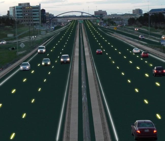 So könnten die Straßen der Zukunft aussehen.