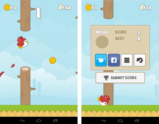 Flying John ist eine gelungene neue Umsetzung des Flappy-Bird-Spielprinzips. Die App verfügt über eine hübschere Grafik als das Original und stellt dem Vogel die zusätzliche Aufgabe, während des Fliegens Münzen einzusammeln.