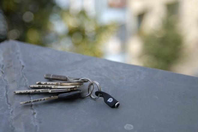 Pressy-Schlüsselbund