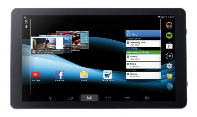 Das 10 Zoll Touchlet Tablet-PC XA100 kostet nur 100 Euro