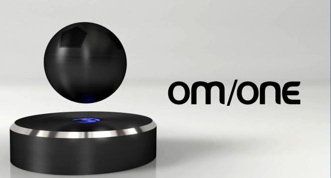 OM/ONE: Der schwebende Lautsprecher ist ein echter Hingucker.