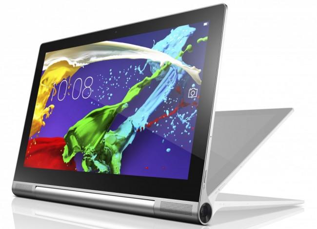 Das neue Yoga-Tablet von Lenovo besitzt sogar einen integrierten Projektor.