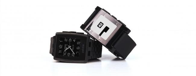 Bis zum Jahr 2020 soll der Markt der Smartwatches (im Bild: das Modell Pebble Steel) im Vergleich zu 2013 auf etwa das Achtfache wachsen. (Foto: Pebble)