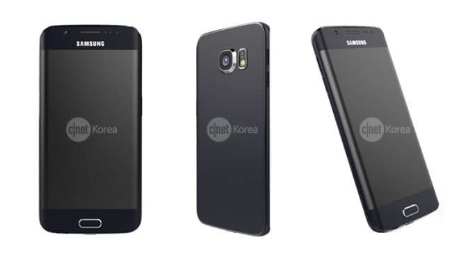 Das Samsung Galaxy S6 Edge besticht mit einem doppelt gekrümmten Display. (Bild: CNET Korea)