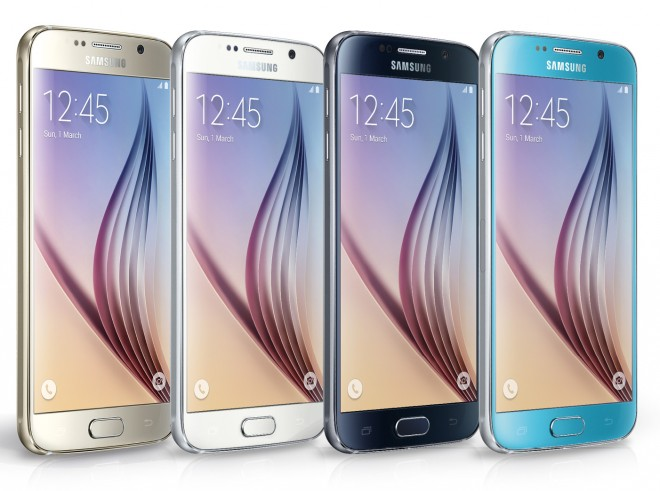 Das Galaxy S6 in den verschiedenen Farbvarianten. Das viele Glas bringt aber auch Probleme mit sich: Die Oberflächen ziehen Fingerabdrücke an. Trotz Gorilla Glas ist auch die Bruchgefahr größer als bei Kunststoff.