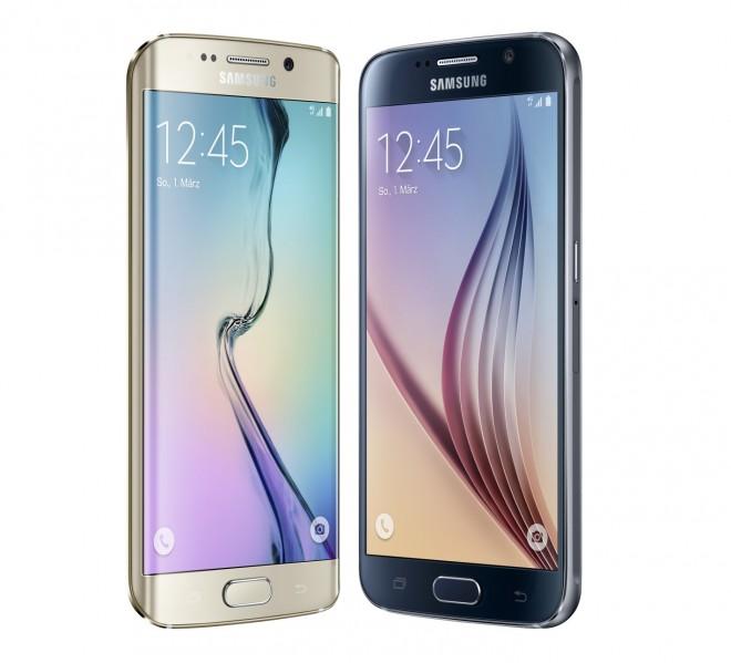 5 Prozent der deutschen Smartphone-Besitzer haben vor, eines der neuen Samsung-Modelle Galaxy S6 und Galaxy S6 Edge zu kaufen. (Foto: Samsung)