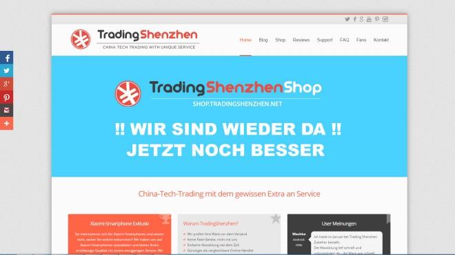 Tradingshenzhen.net: Nicht in jedem Online-Shop sind alle Geräte und Unternehmen gelistet, eine Spezialisierung auf einzelne Hersteller ist keine Seltenheit.