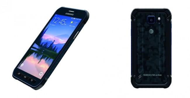 """Das Gehäuse des """"Galaxy S6 Active"""" schützt das Smartphone nicht nur vor Stößen, sondern ist auch staub- und wasserdicht. (Foto: AT&T)"""