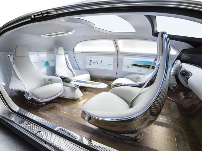 Ein solch futuristisches Interieur könnte schon bald zur Serie werden.