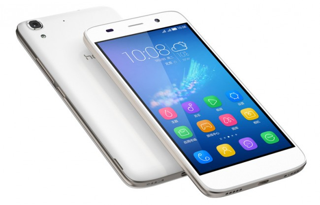 """Das preiswerte Smartphone """"Honor 4A"""" kommt mit einem 5-Zoll-Bildschirm und einem Vier-Kern-Prozessor daher. (Foto: Honor, Inc.)"""