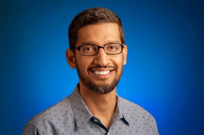 """Sundar Pichai, Senior Vice President von Google, hat im Juni 2014 das Projekt """"Android One"""" vorgestellt. In den nächsten Wochen wird Google dieses Projekt neu starten und sich dabei auch auf noch preiswertere Smartphones konzentrieren. (Foto: Google)"""
