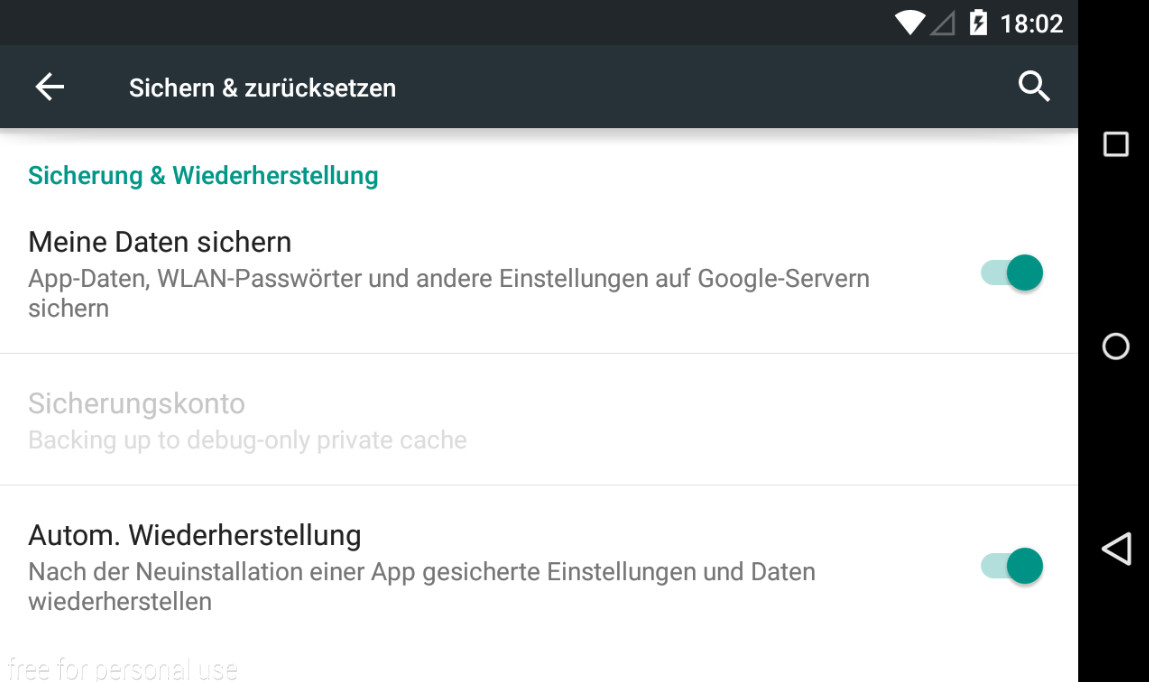 datentransfer von android zu android