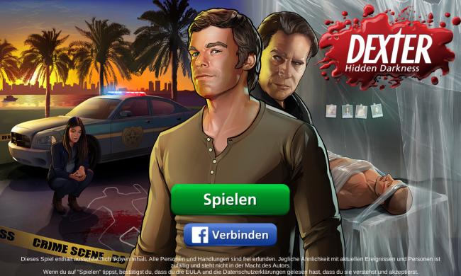 Dexter Hidden Darkness - Titelbild
