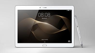 Das MediaPad M2 10.0 bietet einen Eingabestift und soll besonders gut mit komprimierter Musik umgehen können. (Foto: Huawei)