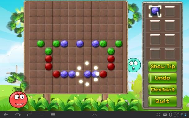 Bilde eine Gruppe aus drei oder mehr gleichfarbigen Spielsteinen, damit sie explodieren!