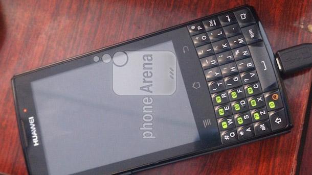 Das Huawei M660 soll mit einer Hardwaretastatur ausgestattet sein. Foto: phonearena