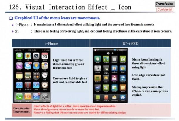 Ein internes Samsung-Dokument belegt iPhone-Inspiration. Foto: allthingsd.com.