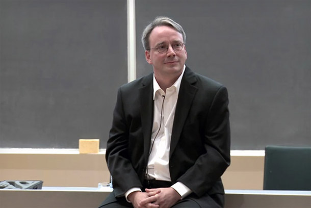 Linus Torvalds, der Initiator des Linux-Projektes, lobt Android. Foto: TheVerge.