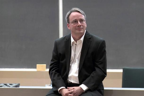 Linus Torvalds, der Initiator des Linux Projektes beschimpft Nvidia für die schlechte Zusammenarbeit. Foto: Youtube.